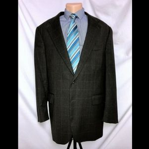 Polo Ralph Lauren Green Plaid University Suit 46T